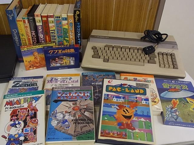 PC-8001/mkII/SR用ゲームソフト2...