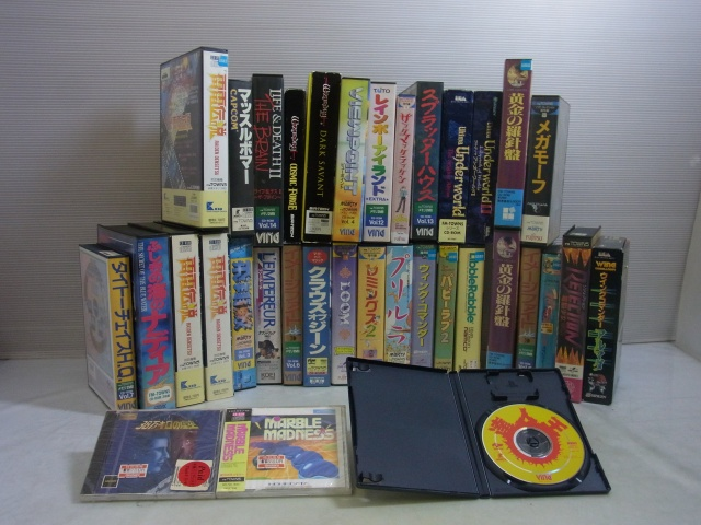 FM-TOWNS用のゲームソフトが多数入荷しました