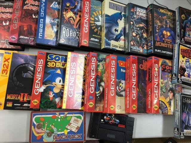 Genesisなど海外ソフトを多数買取しました