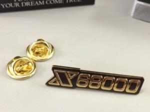 X68000ロゴピンズの登場です!