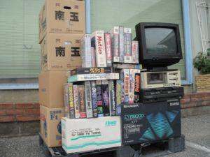 【出張買取】X68000、MZ-2500本体・ソフト等を栃木県日光市のお客様より大量にお譲りいただきました