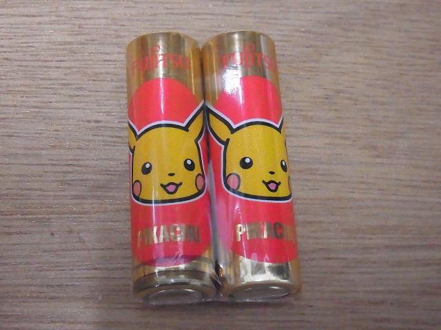 ピカチュウの電池
