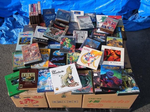BEEPがPC-98用ソフトを大量に買い取りました