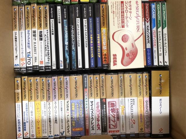セガサターン 新世紀エヴァンゲリオン 2nd Impression などソフト多数を東京都墨田区のお客様からお売りいただきました。