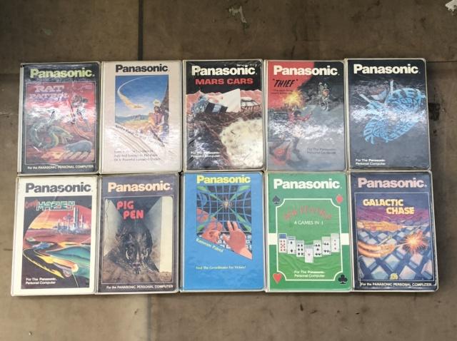 大量のパナソニックPC用テープ