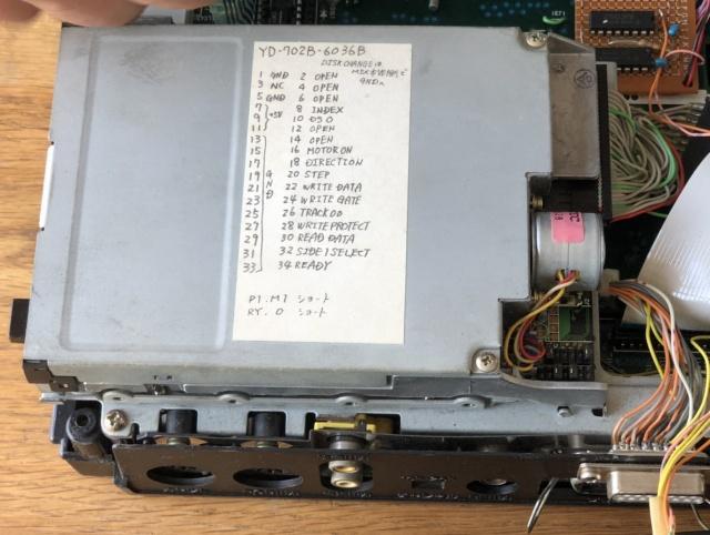 パナソニック FS-A1WX (改造品) 改造部分写真3枚目