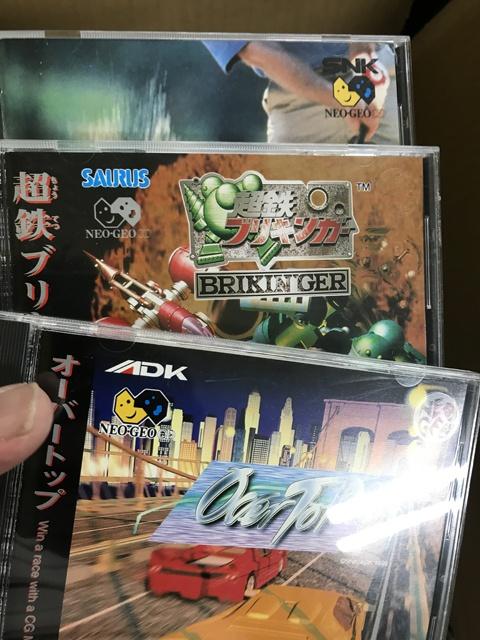 【宅配買取】ネオジオCD多数を新潟県三条市よりお売り頂きましたPART2(サードパーティ編)