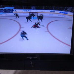 NHL2K2ゲーム画面