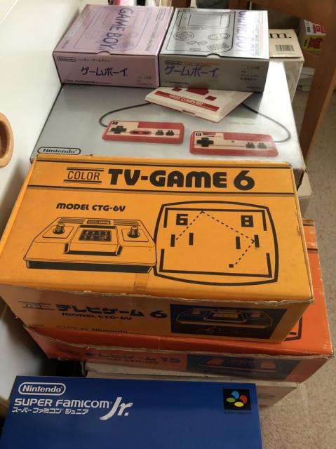 任天堂テレビゲーム15などのパッケージ画像です