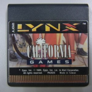カリフォルニアゲームズのソフト写真です