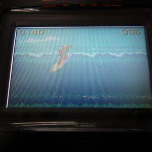 カリフォルニアゲームズのゲーム画面です