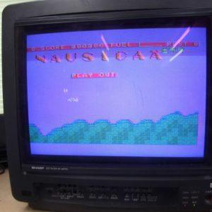 MSX版ナウシカのタイトル画面です